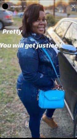 Cardi B son hommage bouleversant à Breonna Taylor, tuée par la police !