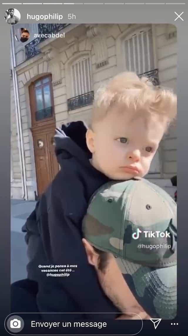 Caroline Receveur: Hugo Philip s'éclate sur TikTok avec leur fils Marlon !