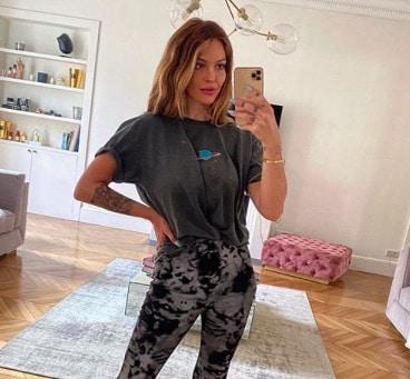 Caroline Receveur s'affiche au naturel sur Instagram !