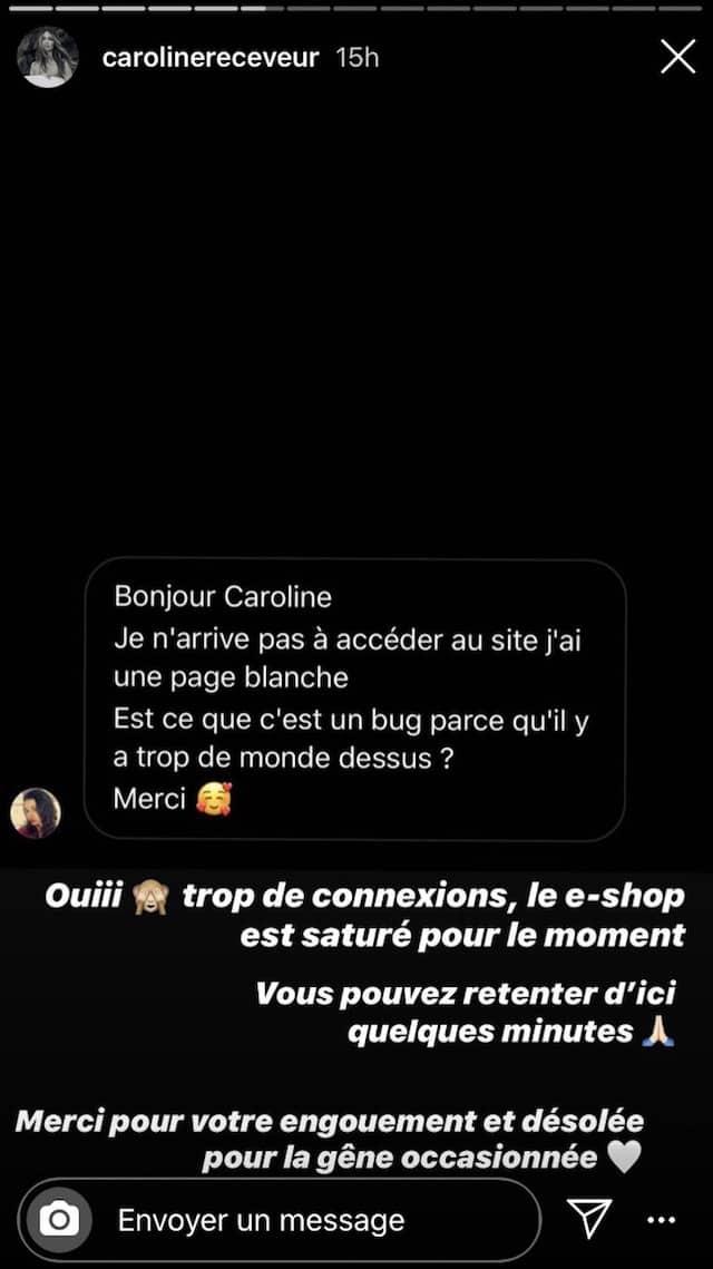 Caroline Receveur: ses fans s'arrachent sa nouvelle collection RECC Paris !