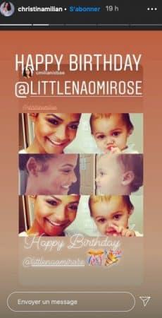 Christina Milian dévoile d'adorables photos de sa nièce sur Instagram !