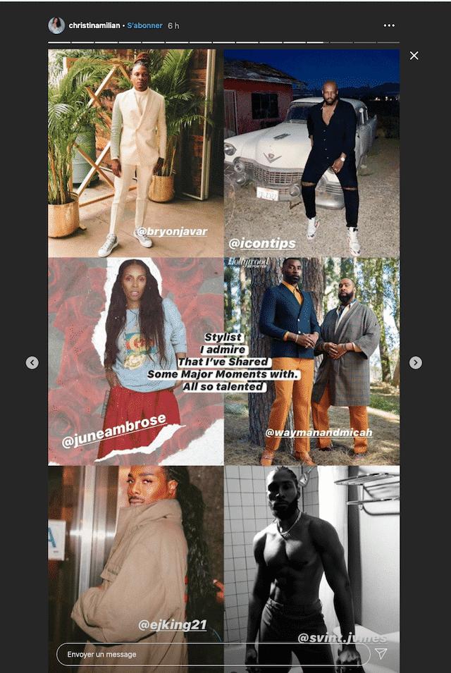 Christina Milian met en avant les entrepreneurs Noirs sur Instagram !
