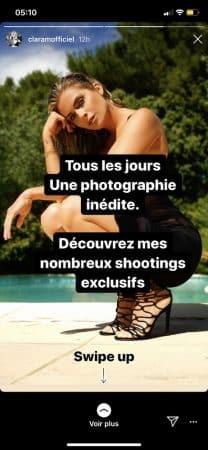 Clara Morgane- talons aiguilles et mini-robe, elle embrase Instagram 640