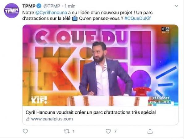 Cyril Hanouna se lance dans un projet fou loin de la télévision !