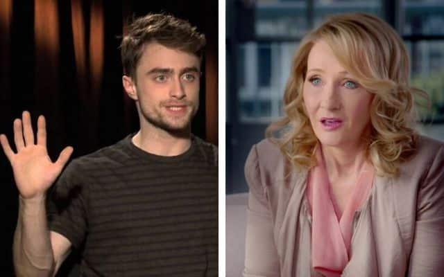 Daniel Radcliffe (Harry Potter) réagit aux propos transphobes de J. K. Rowling !