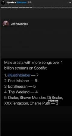 DJ Snake bientôt plus populaire que The Weeknd ?