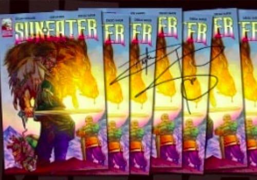Dylan Sprouse aux côtés des meilleurs dessinateurs avec sa mini-série !