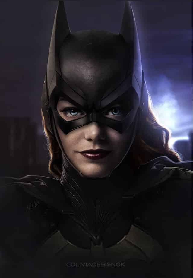 Emma Stone: à quoi ressemblerait-elle en Batgirl (DCEU) ?