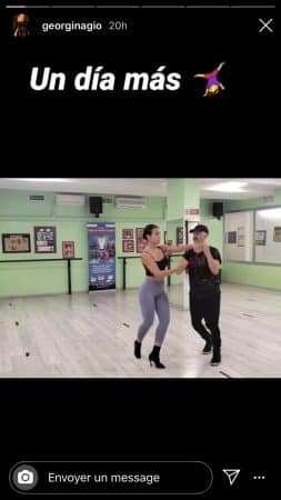 Georgina Rodriguez (Cristiano Ronaldo) torride pendant son cours de salsa !