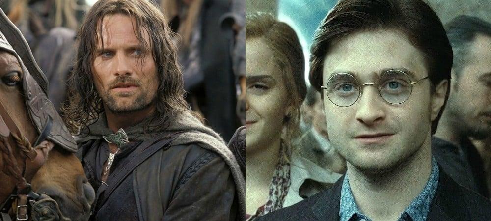 Harry Potter ressemble beaucoup aux Seigneur des Anneaux d'après les fans !