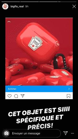 Bigflo est choqué par cette publicité sponsorisée sur Instagram