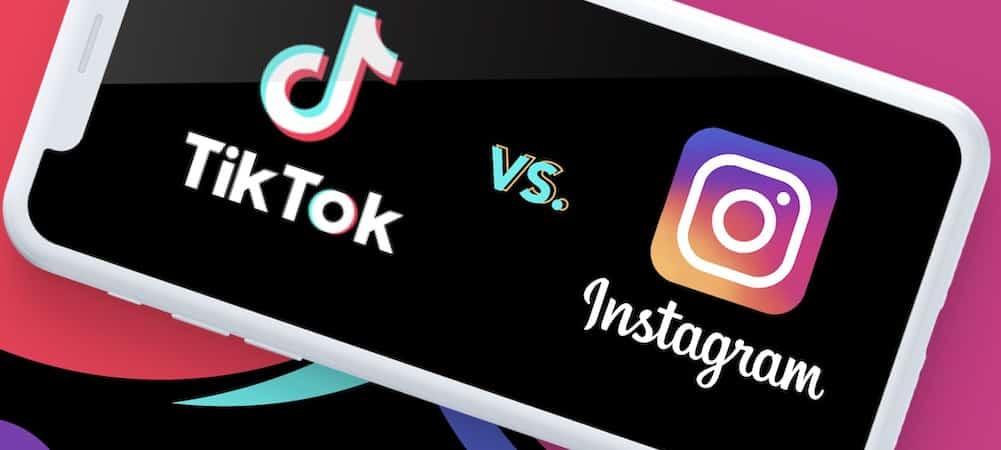 Instagram concurrence TikTok avec la fonctionnalité Reels !