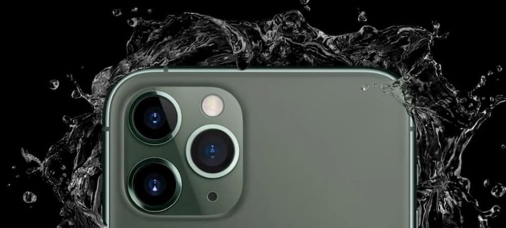 iPhone 11: certains utilisateurs se réveillent avec un écran verdâtre !