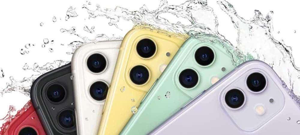 iPhone 11- un bug technique change la couleur du téléphone 1000