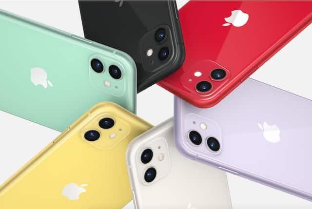 iPhone 11- un bug technique change la couleur du téléphone 640