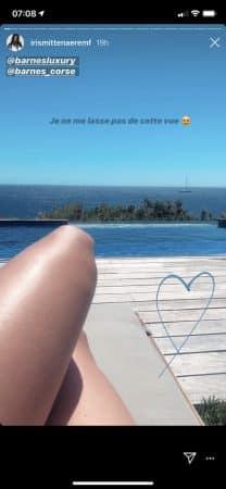 Iris Mittenaere émerveillée par l'eau turquoise des plages Corses 640