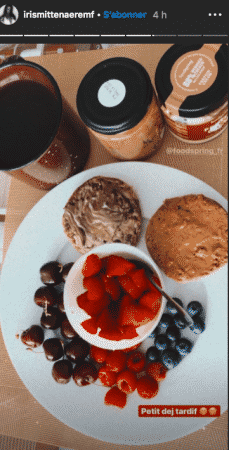 Iris Mittenaere son petit-déjeuner va vous mettre l'eau à la bouche 08062020-
