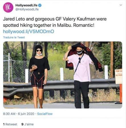 Jared Leto_ après Miley Cyrus, il craque totalement pour Valery !