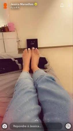Jessica Thivenin avoue être totalement phobique des pieds !