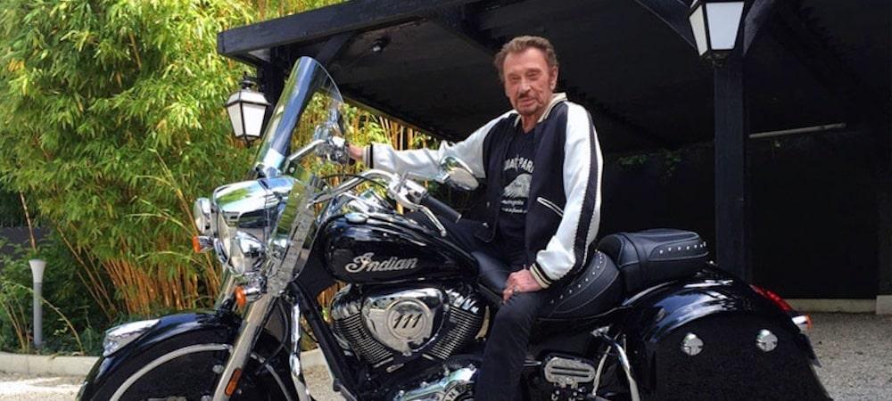 Johnny Hallyday- son dernier road trip à moto fera l'objet d'un film 1000