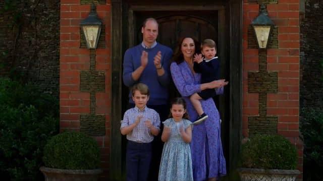 Kate Middleton et le prince William- Louis fait beaucoup rire ses parents 640
