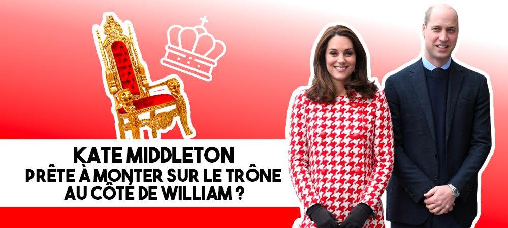 Kate Middleton prête à monter sur le trône au côté de William ?