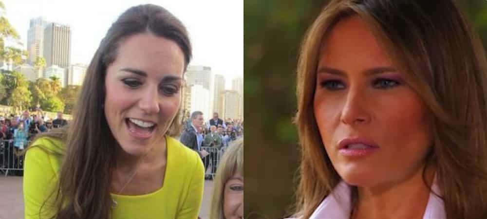 Kate Middleton: Melania Trump s'est beaucoup inspirée de son look !