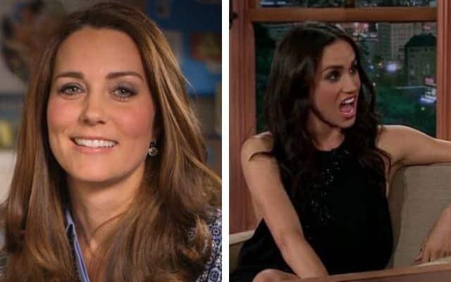 Kate Middleton n'a jamais soutenu Meghan Markle !
