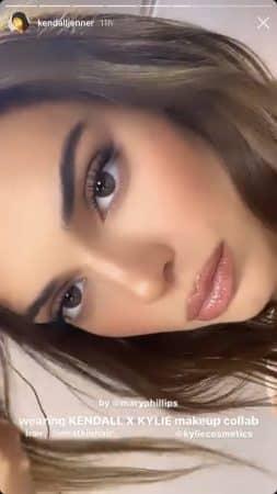 Kendall Jenner : son make up glamour et sexy fait l'unanimité sur Instagram !