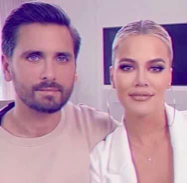 Khloé Kardashian et Scott Disick sont toujours très complices !
