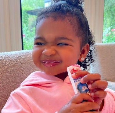 Khloé Kardashian: le sourire de sa petite True fait fondre la Toile !