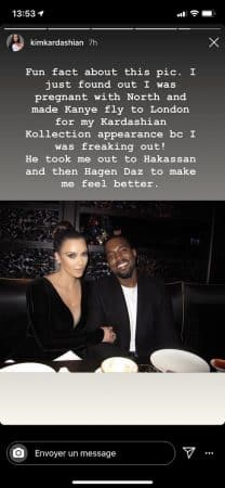 Kim Kardashian- le jour où elle a appris qu'elle était enceinte de North 640