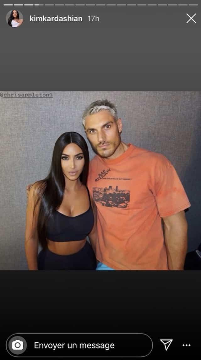 Kim Kardashian s'affiche avec Chris Appleton pour son anniversaire !