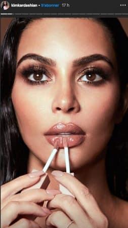 Kim Kardashian: son look nude et sexy fait sensation sur Instagram !