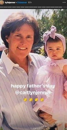 Kylie Jenner dévoile une photo d'elle bébé et fait fondre la Toile !