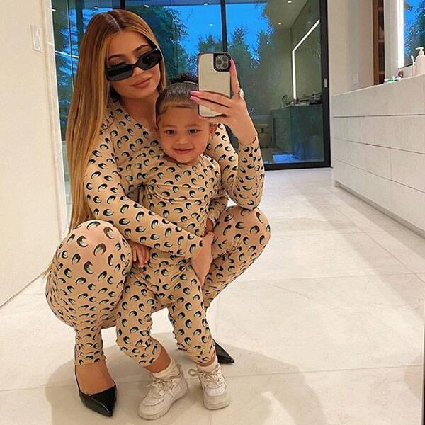 Kylie Jenner: Stormi a déjà une belle collection de chaussures !