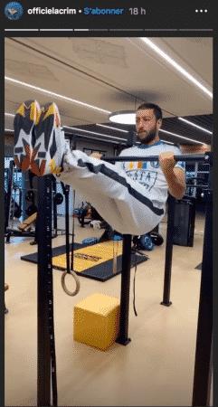 Lacrim s'affiche en pleine séance d'entraînement intense sur Instagram 10062020-