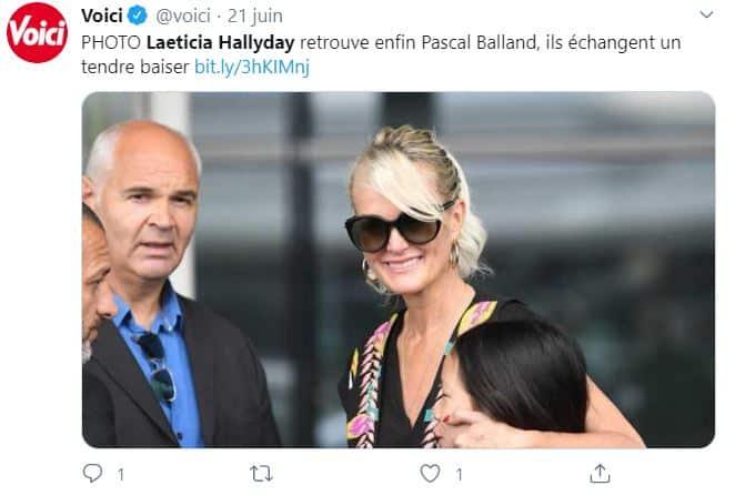 Laeticia Hallyday et Pascal Balland : soirée romantique sans Jade et Joy !