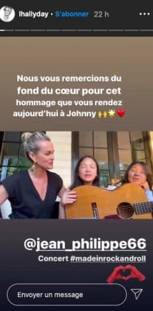 Laeticia Hallyday fait pleurer un fan de Johnny sur Instagram !
