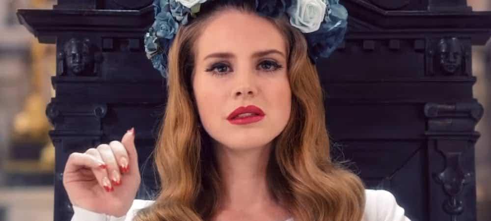 Lana Del Rey ultra rayonnante sur son selfie posté sur Instagram