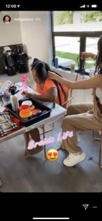M Pokora adore la nouvelle coiffure de sa belle-fille Violet 640