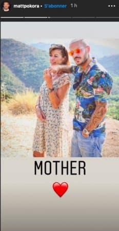 M Pokora partage une belle photo avec sa maman sur Instagram