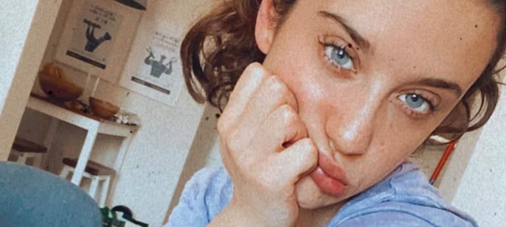 María Pedraza enflamme la toile topless sur Instagram 1000
