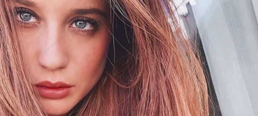 María Pedraza fait craquer la toile avec son regard de braise sur Instagram 1000