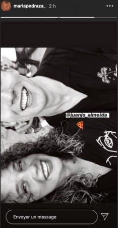 María Pedraza pose avec l'acteur Juanjo Almeida sur Instagram !