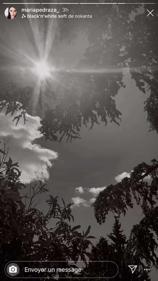 María Pedraza profite du soleil espagnol sur Instagram !
