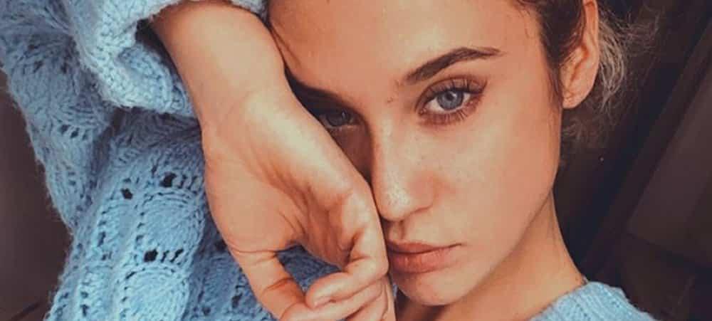 María Pedraza s'affiche avec un masque de protection sur Instagram !