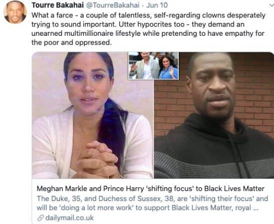 Meghan Markle se fait atomiser après ses propos contre le racisme !