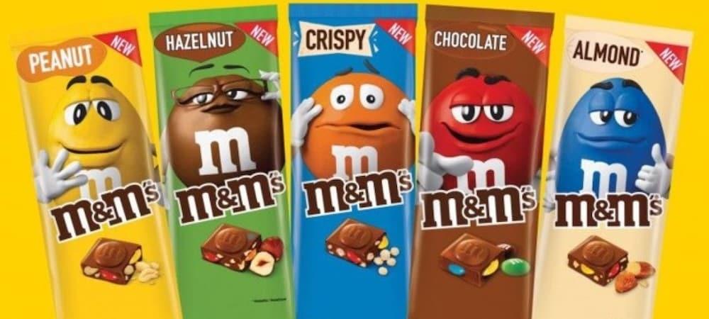 M&M's- découvrez les nouvelles tablettes de chocolat 06062020