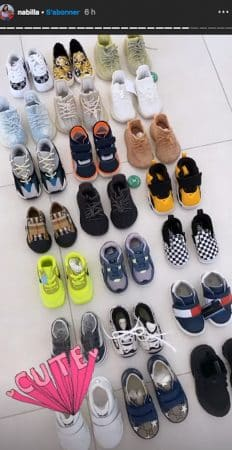 Nabilla dévoile l'impressionnante collection de chaussures de Milann !